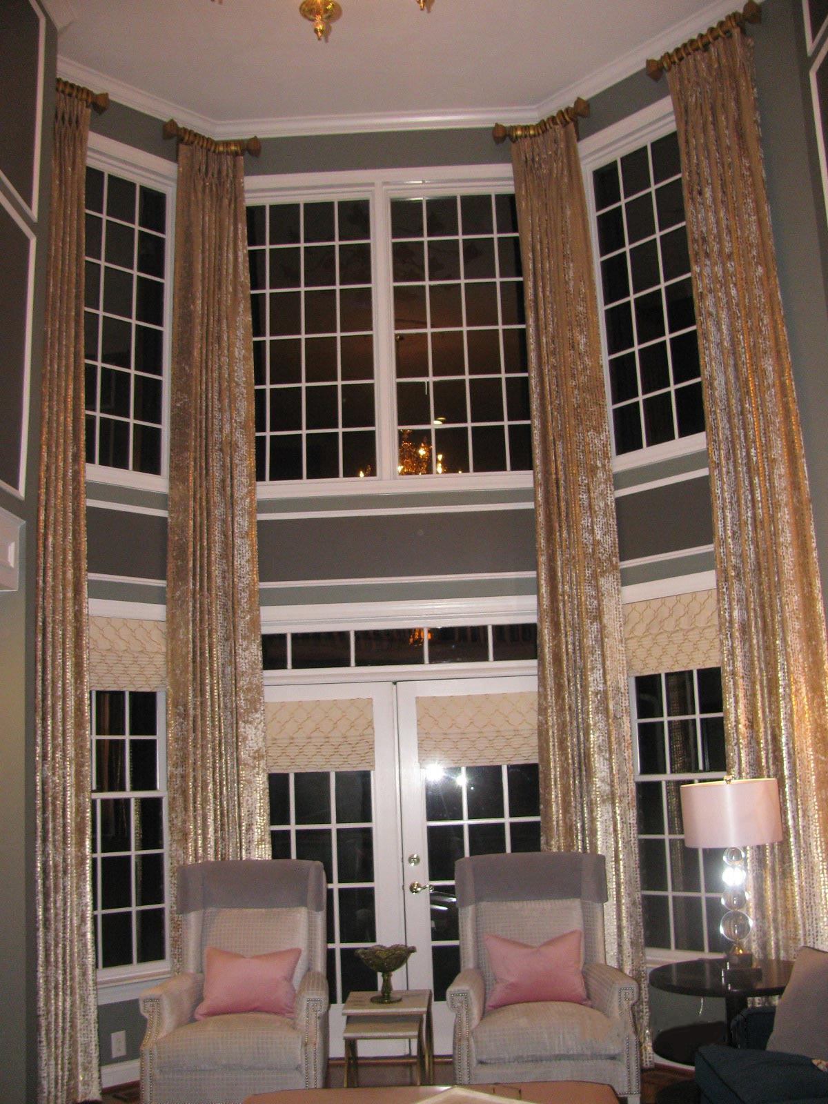 Two Story Drapes Ronica S Custom Creations