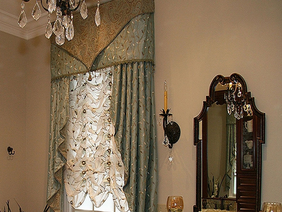 Dining Room Valance And Drapes Ronica S Custom Creations
