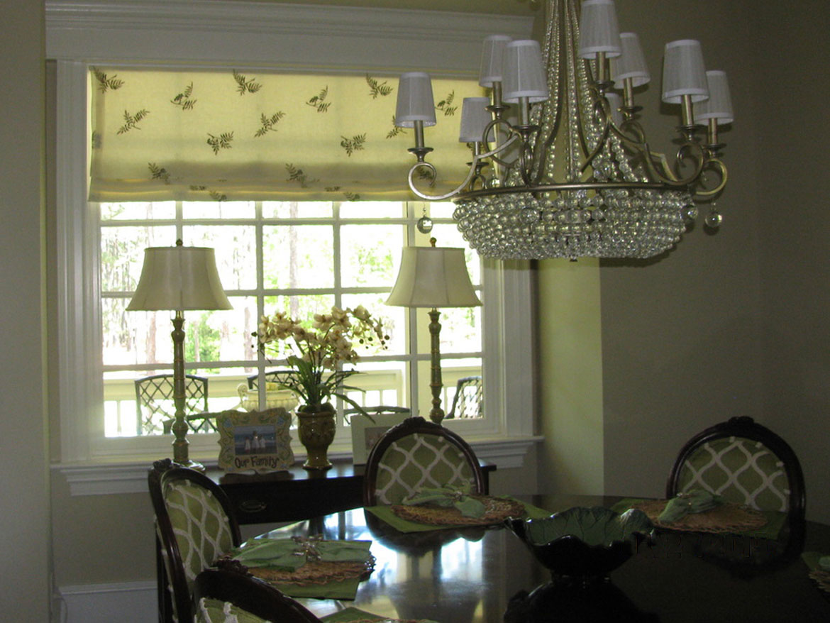 Dining Room With Fern Shade Ronica S Custom Creations