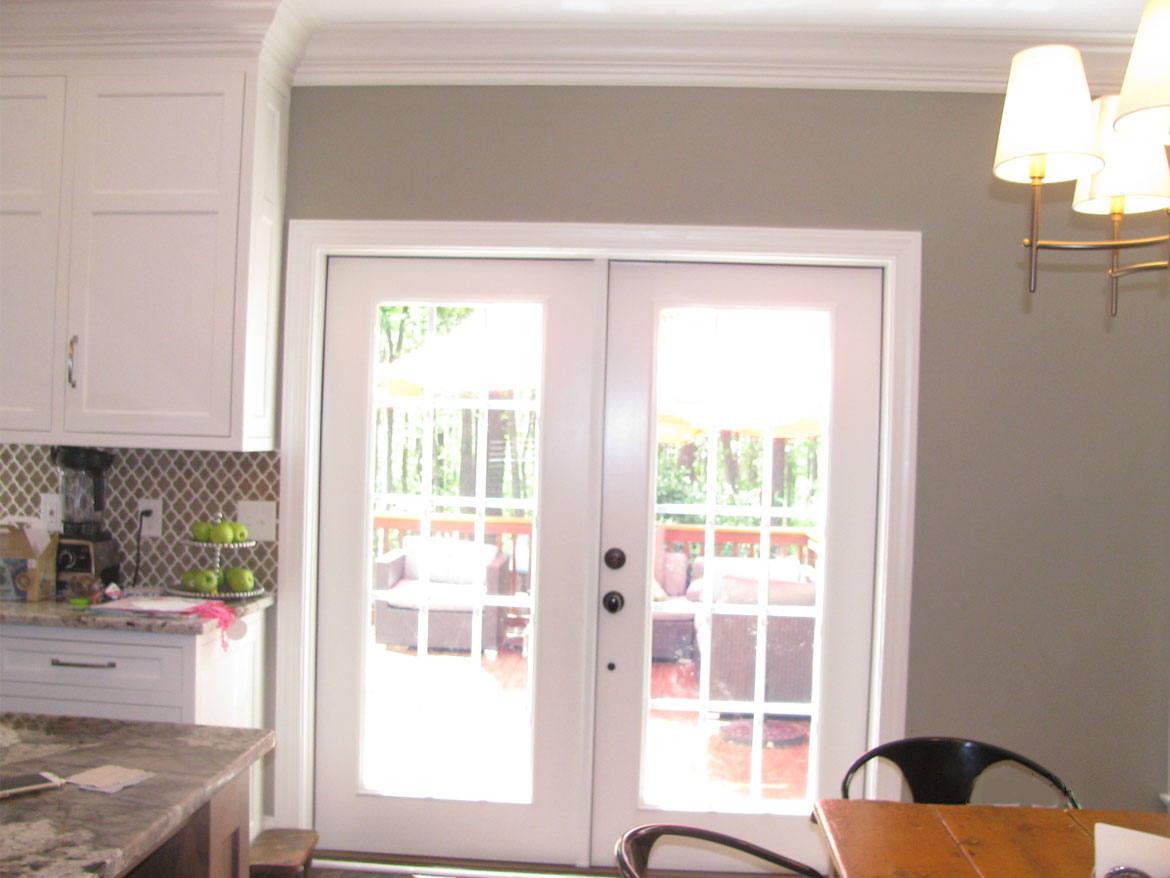 Kitchen Door Before Amp After Ronica S Custom Creations