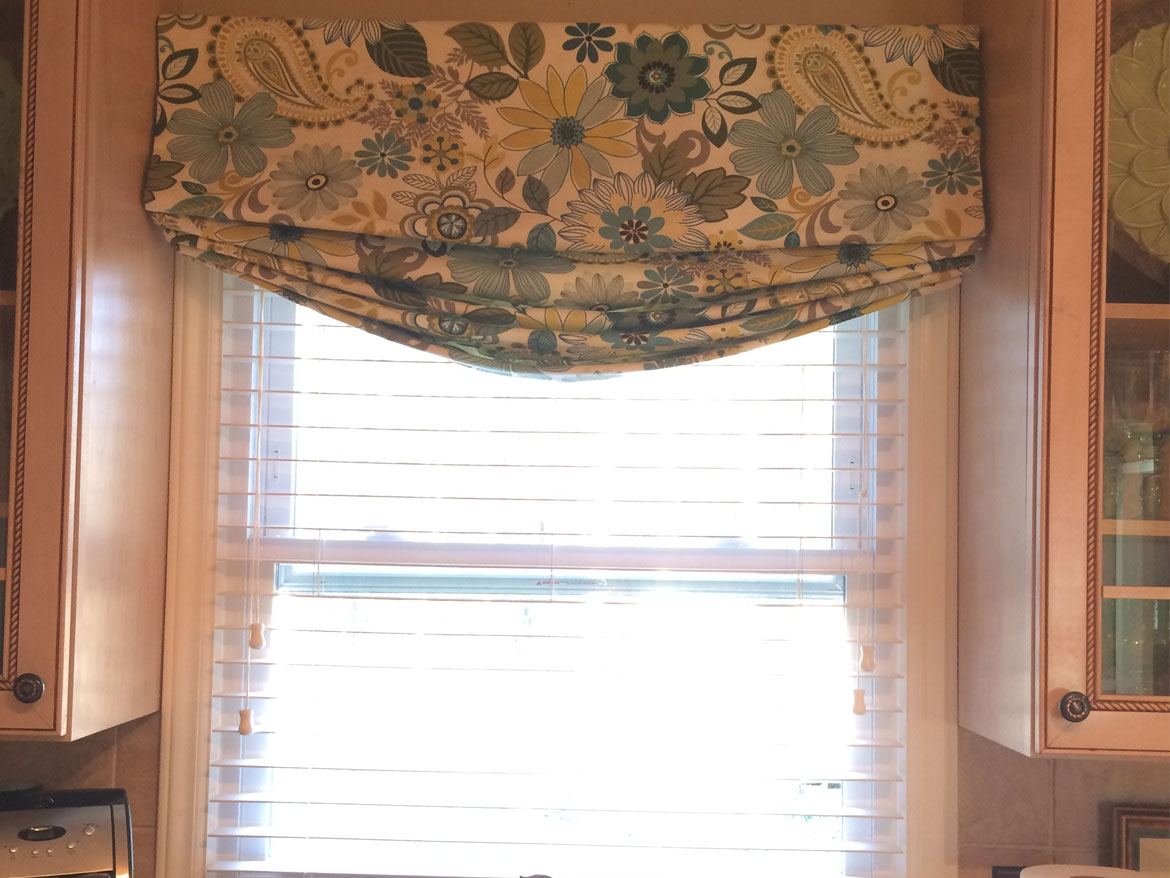 Relaxed Faux Roman Shade Ronica S Custom Creations