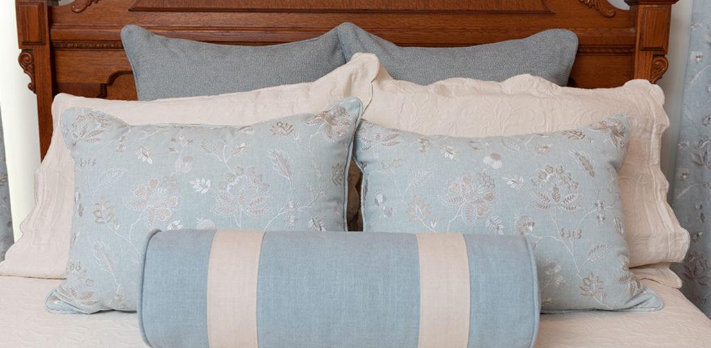 Blue Bedding Raleigh