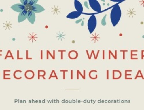 Fall into Winter Decorating Ideas